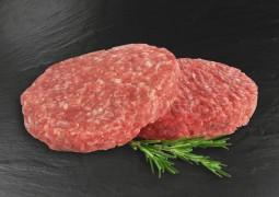 Burgerpattie (0,99 €/100g)...
