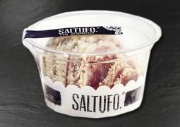 Saltufo Salami geschniten...