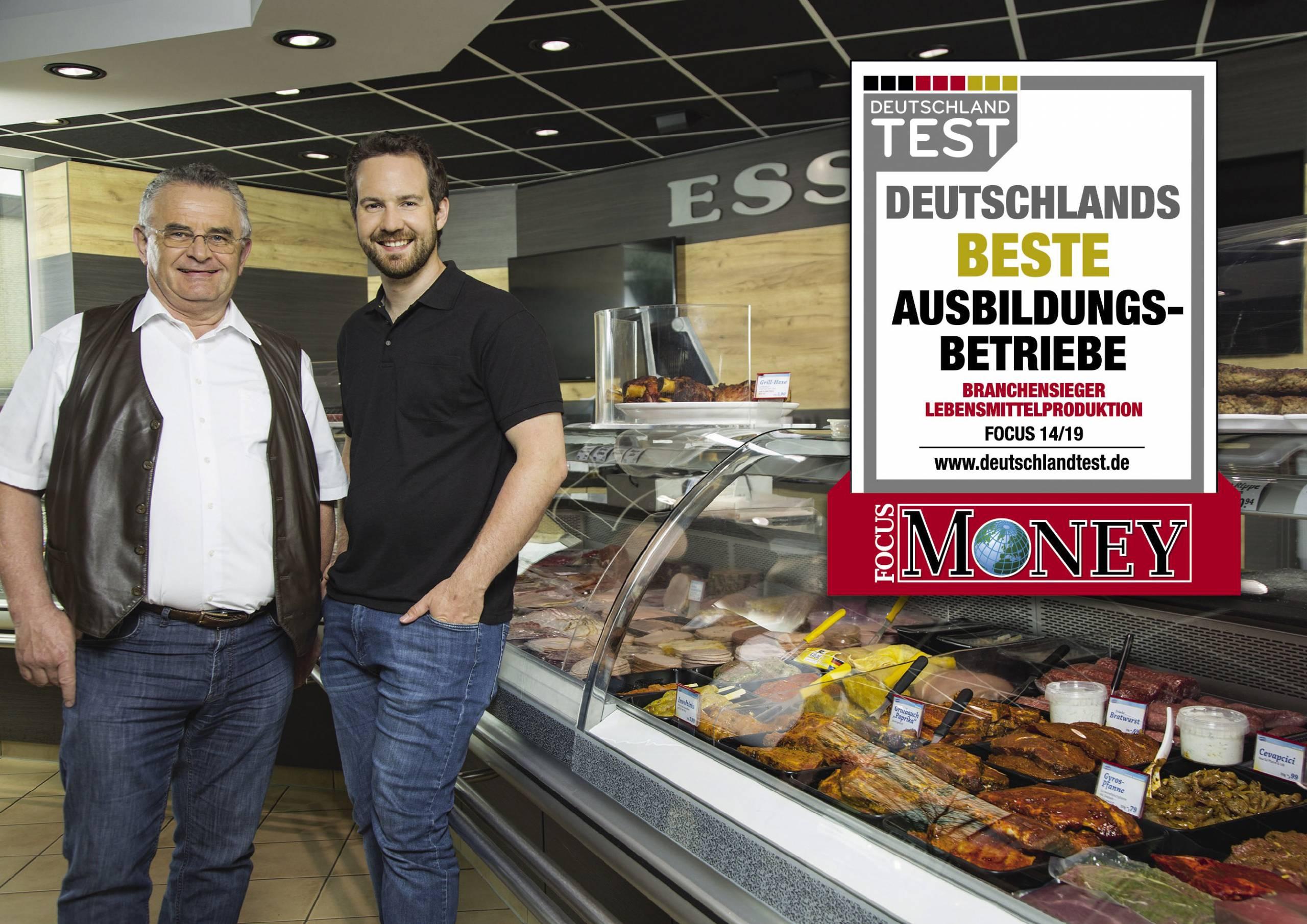 Deutschlands bester Ausbildungsbetrieb - Branchensieger