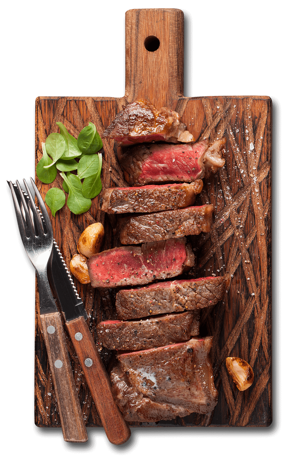Saftiges Steak